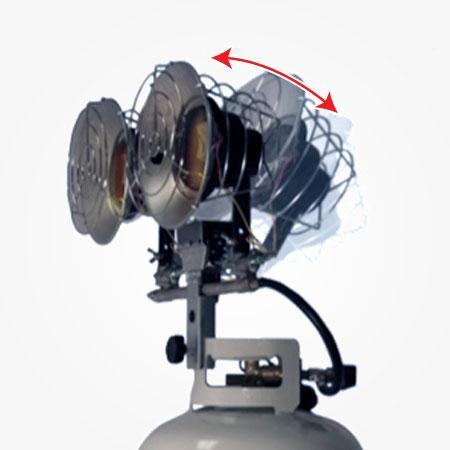 Propane Radiant Tank Top Heater 32 000 Btu Heat Stream