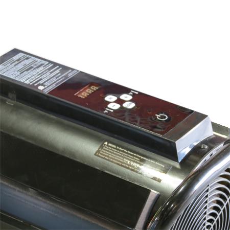 Silentdrive 220 Diesel Kerosene Forced Air Torpedo Heater